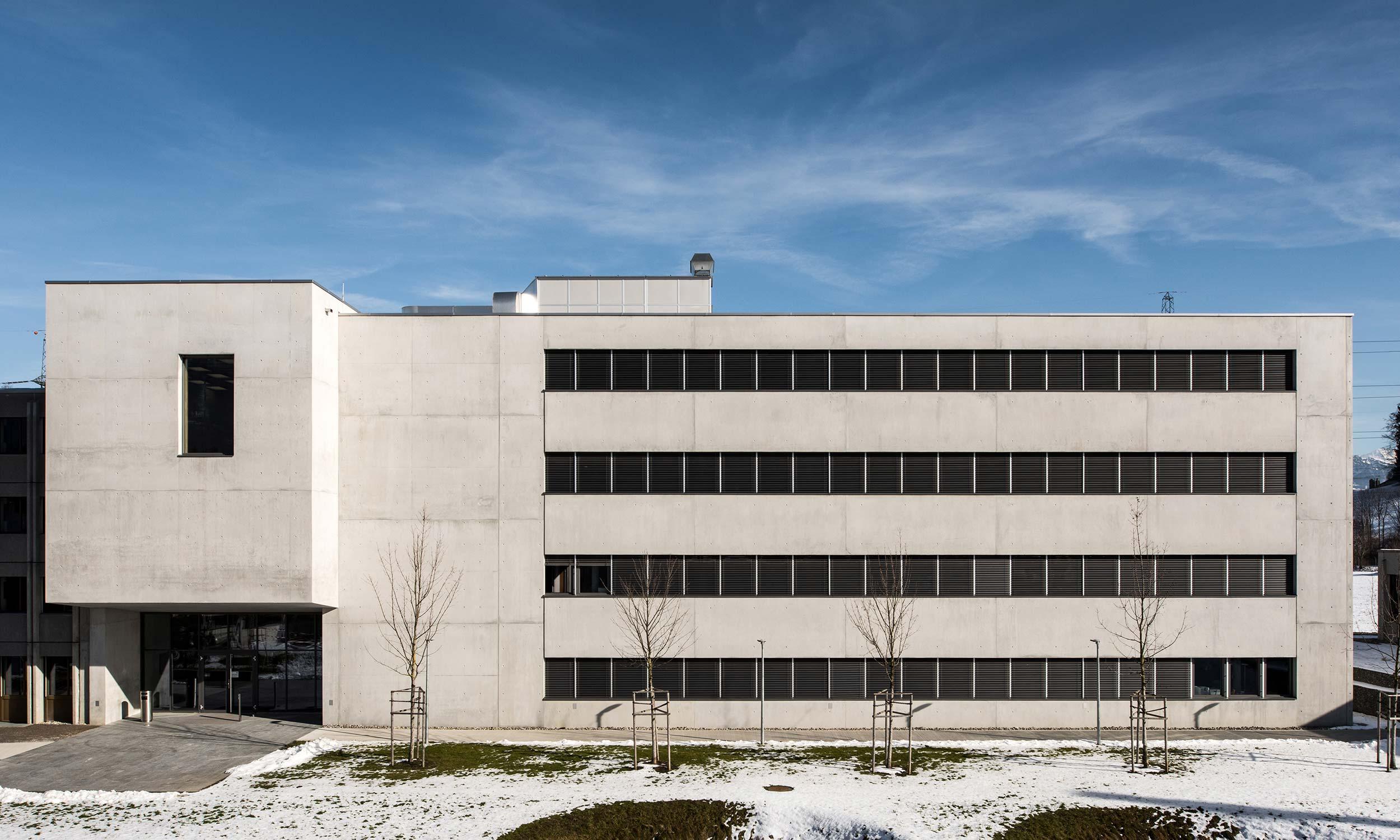 HMS Architekten AG Spiez Unterseen Kompetenzzentrum ABC Kamir Spiez