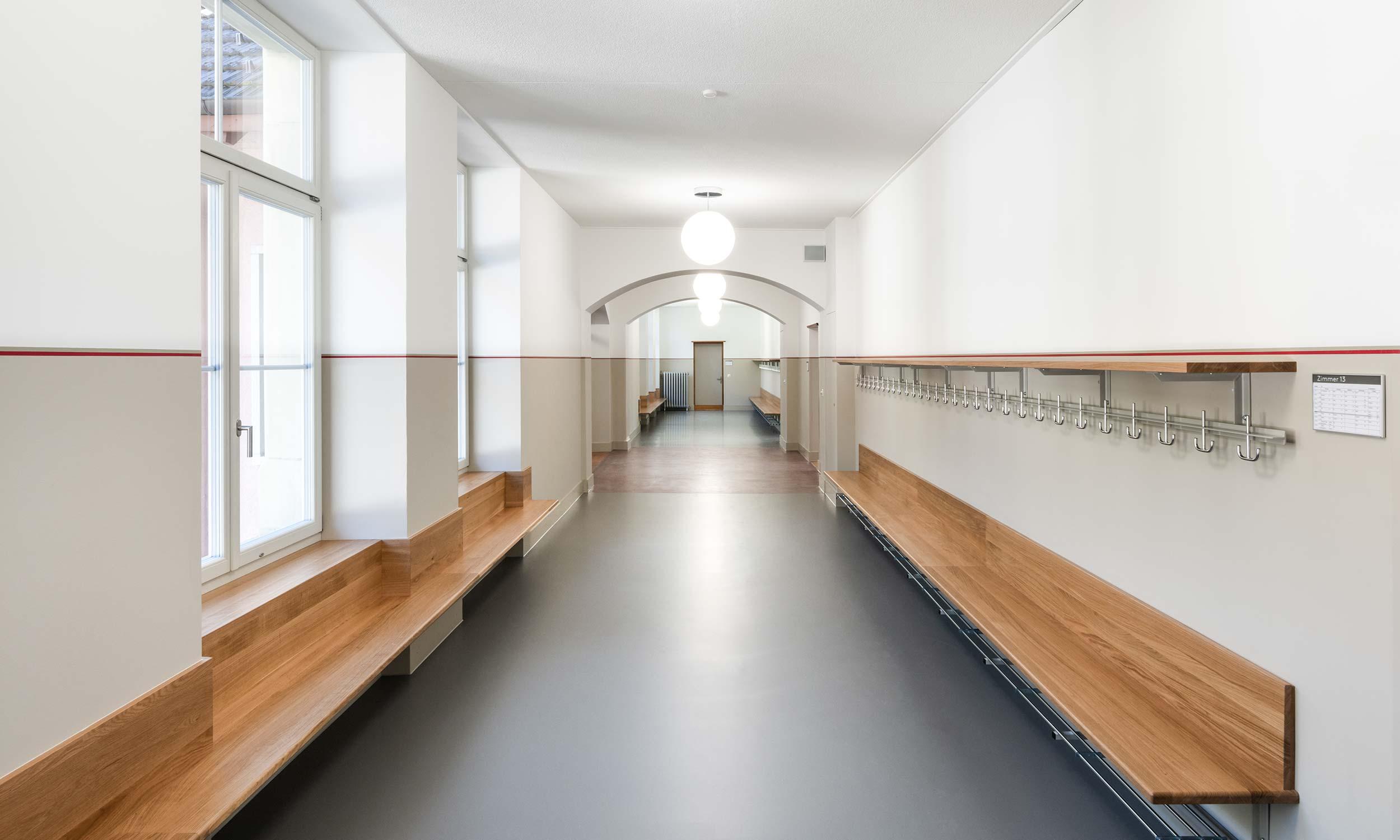 HMS Architekten AG Spiez Unterseen Altes Schulhaus Brienz