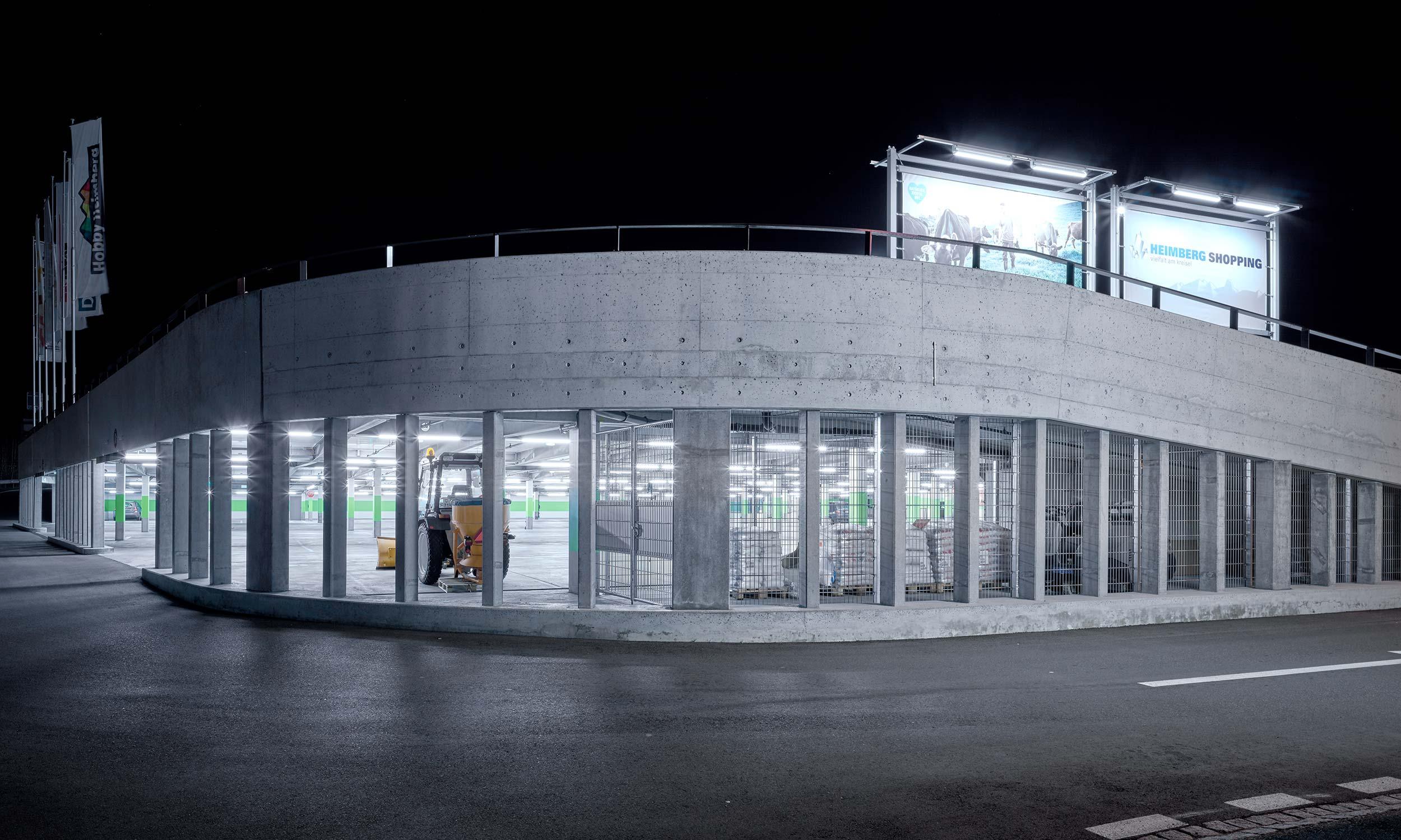 HMS Architekten AG Spiez Unterseen Coop Megastore Heimberg Center