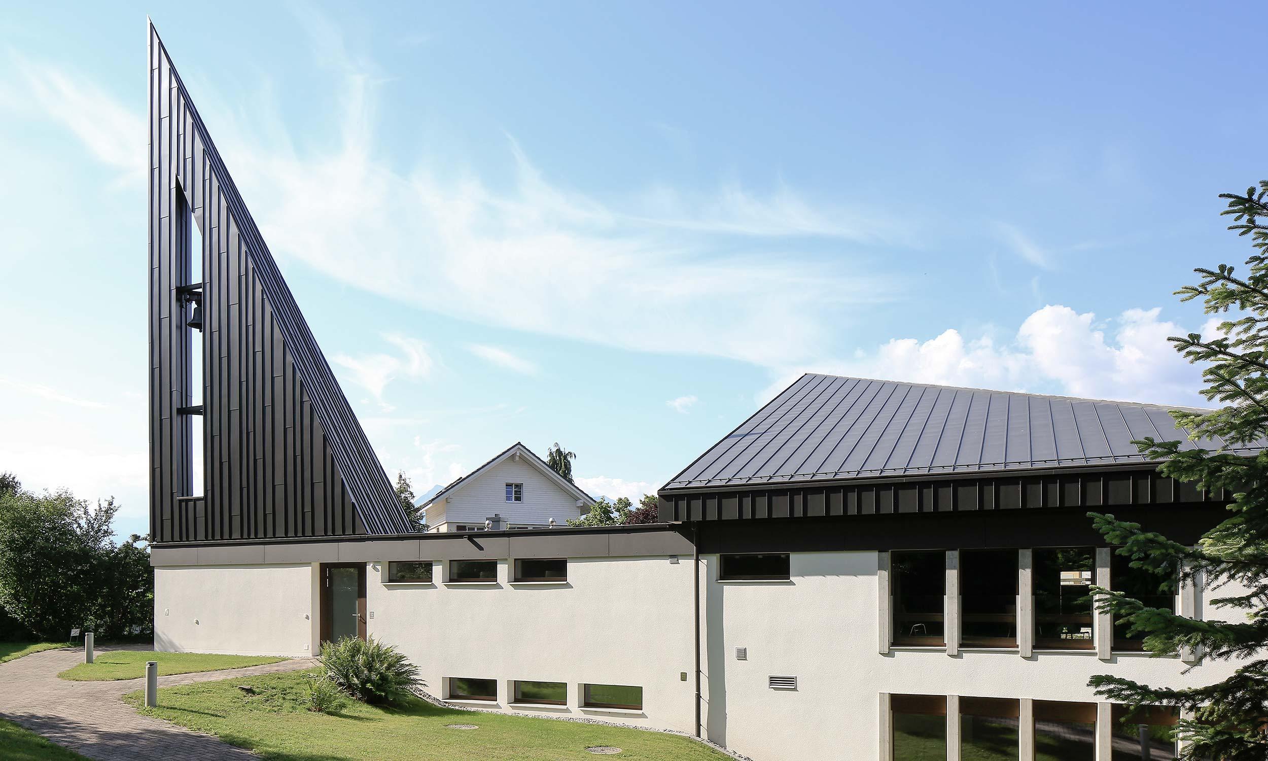 HMS Architekten AG Spiez Unterseen Kirchgemeindehaus Kaliforni Heimberg