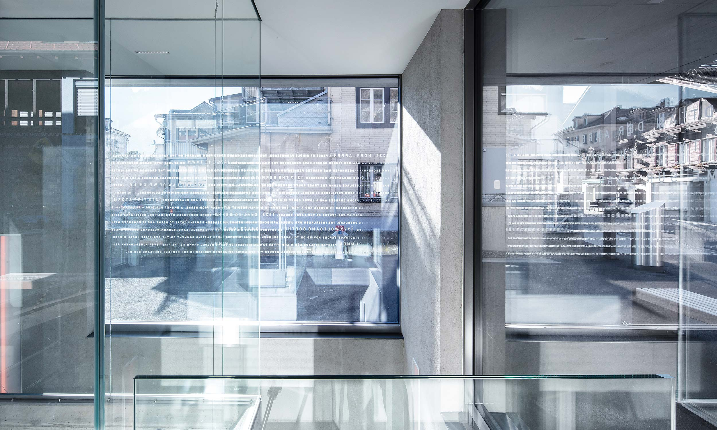 HMS Architekten AG Spiez Unterseen Liftgebäude Unterseen