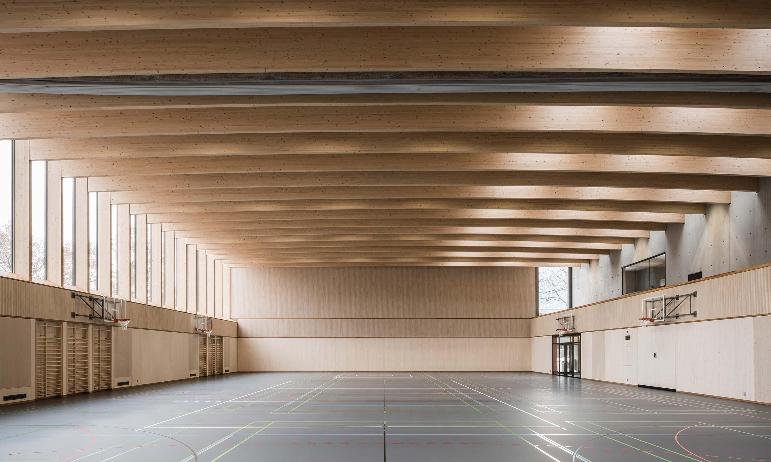 HMS Architekten AG Spiez Unterseen Sporthalle Waffenplatz Thun