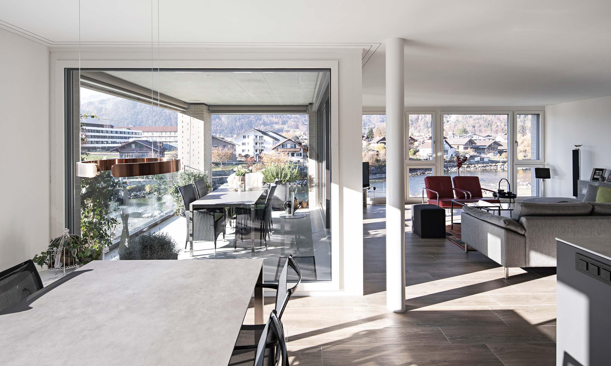 HMS Architekten AG Spiez Unterseen Wohnüberbauung Herreney Interlaken